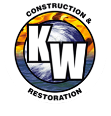 KW Construction and Restoration logo