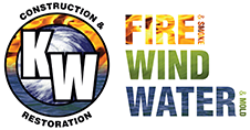 KW Construction & Restoration Logo