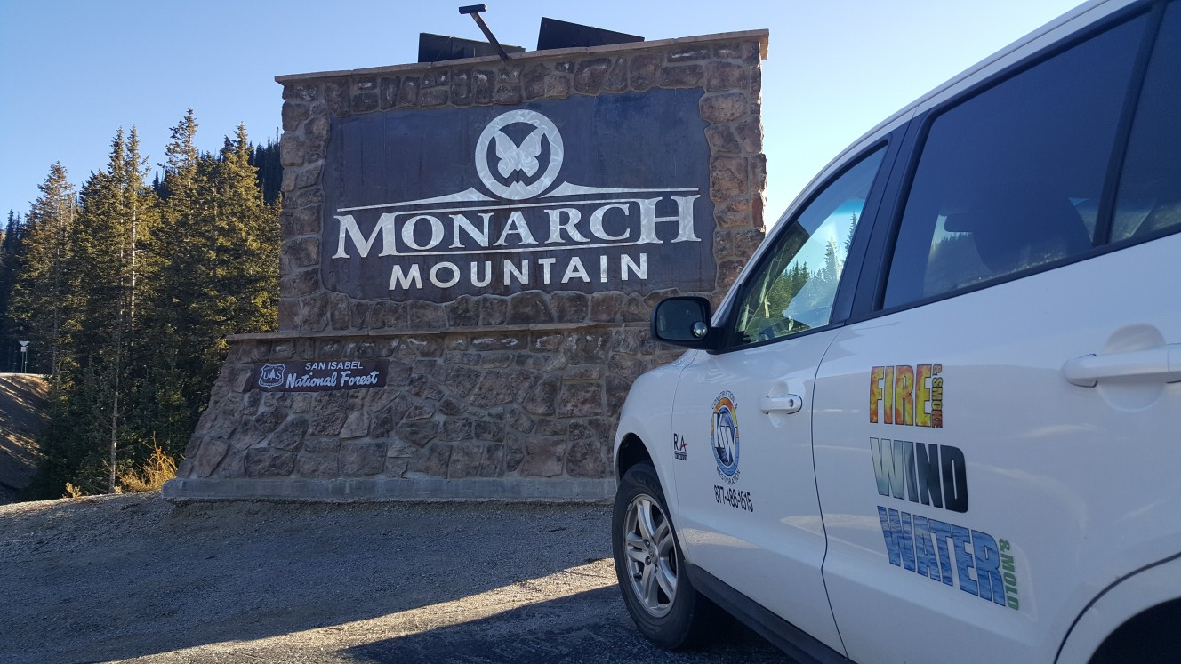 water damage monarch
